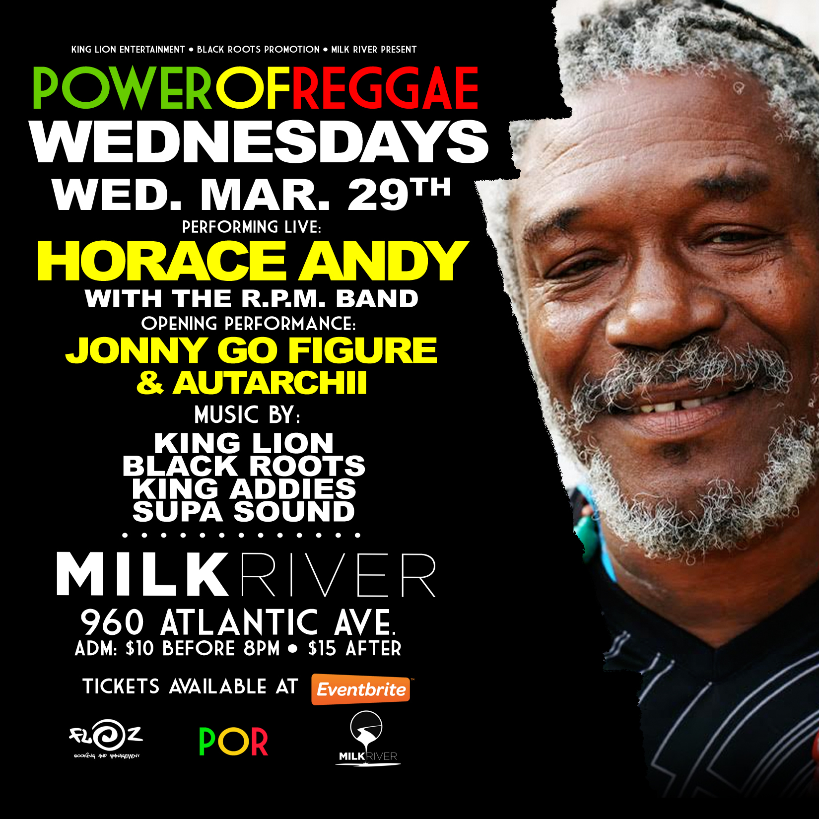 Horace Andy (FREE TICKETS)