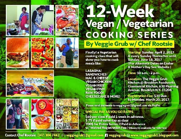 Win 1 Complimentary Vegan Cooking Class